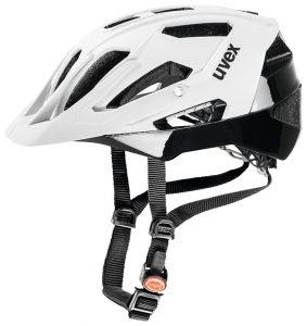 Weiß/schwarzer Uvex Helm